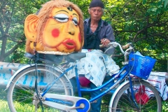 6. Old Man and Puppet Beggar - Kalimalang - East Jakarta - Indonesia 2014