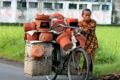 7. Clay Woman in Her Bike Bantul 2013