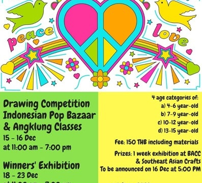 """Coloring the World for Peace and Tolerance"" Walk-In Children and Youth Drawing Competition December 15 @ 11:00 am - December 16 @ 7:00 pm"