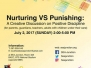 "Creative Workshop ""Nurturing vs Punishing"" 2 July 2017 at 2:00 pm - 5:00 pm"