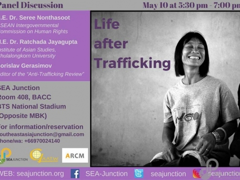 "Panel Discussion ""Life after Trafficking"" May 10 @ 5:30 pm - 7:00 pm"