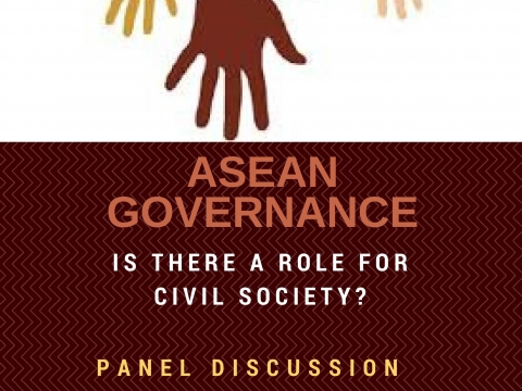 Panel on ASEAN Governance: Is there a Role for Civil Society? On 12 October 2016