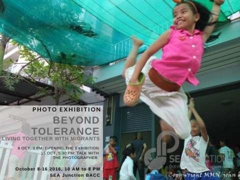 """Photo Exhibition """"Beyond Tolerance: Living Together with Migrants"""" on 8-16 October"""
