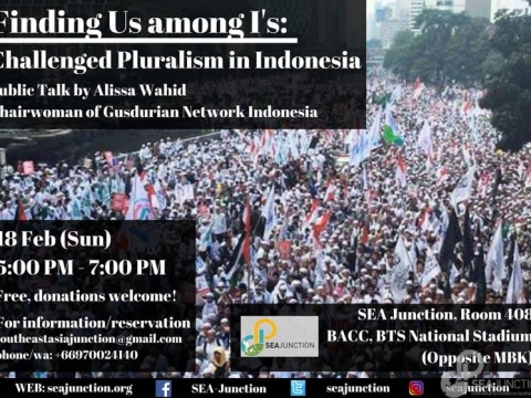 "Public Talk ""Finding Us Among I's: Challenged Pluralism in Indonesia"" by Alissa Wahid February 18 @ 5:00 pm - 6:30 pm"