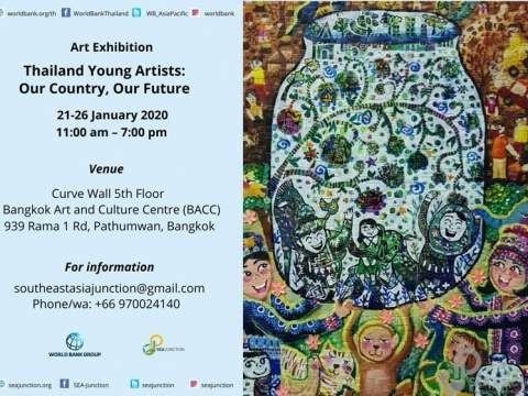 """Thailand Young Artists: Our Country, Our Future"" Art Exhibition 21-26 January 2020 @ 11:00 am - 7:00 pm"